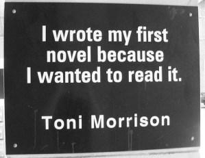 foto: citaat Toni Morrison