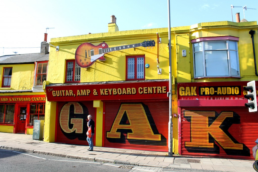 Guitar shop Brighton North Laines
