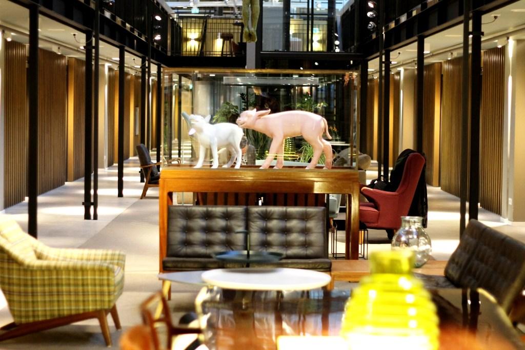 Hotel de Hallen - interior - Amsterdam - Johanna Payton
