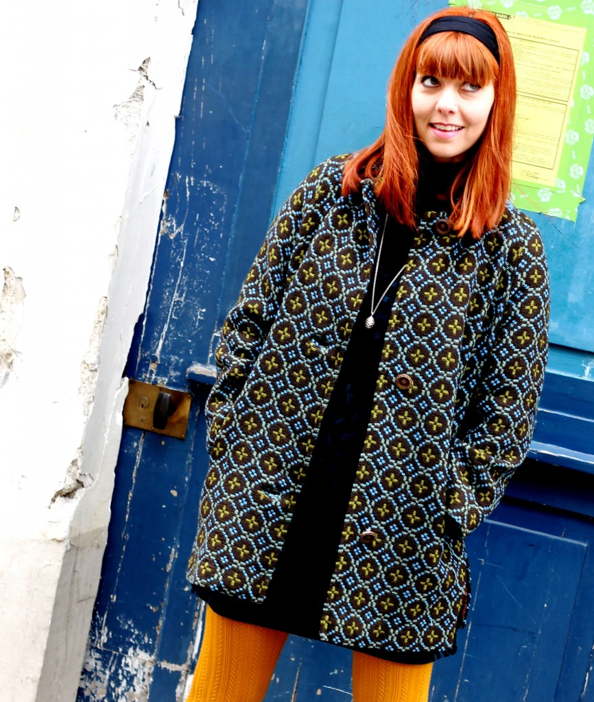 Welsh wool coat 1960s - 60s fashion blog