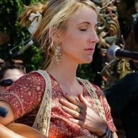 Johanna at Bhakti Fest