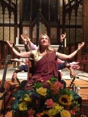 Johanna at Trinity Episcopal Church in Ohio