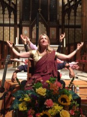 Johanna at Trinity Episcopal Church in Ohio