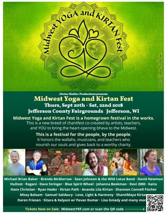 Midwest Yoga Fest poster