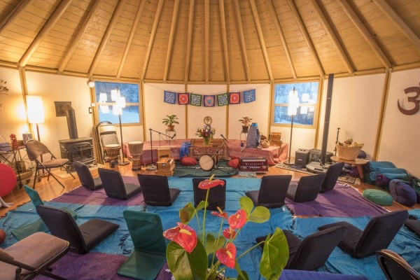 BodhiHeart Yurt
