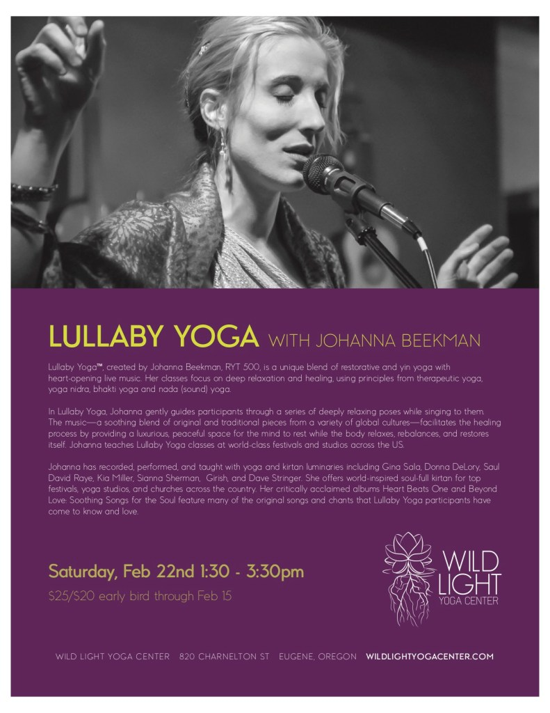 Wild Light Yoga Center Feb 2020 poster copy
