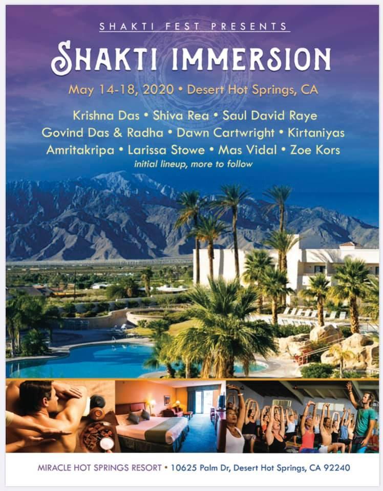Shakti Immersion poster