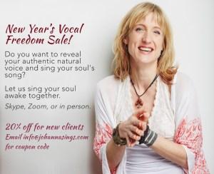Vocal Freedom Sale Jan 2020