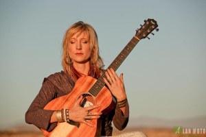 Johanna with Guitar