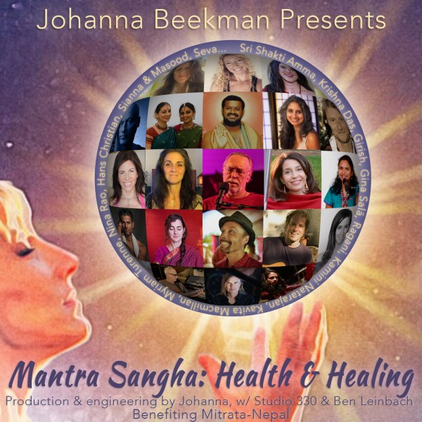 Healing Mantra Sangha cover image with names