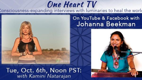 One Heart TV Facebook Event Banner Kamini