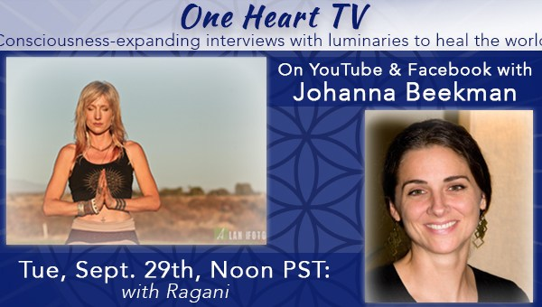 One Heart TV Facebook Event Banner Ragani