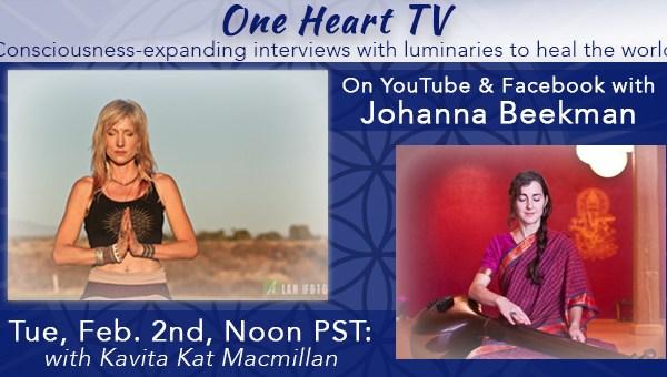 One Heart TV Facebook Event Banner Kavita