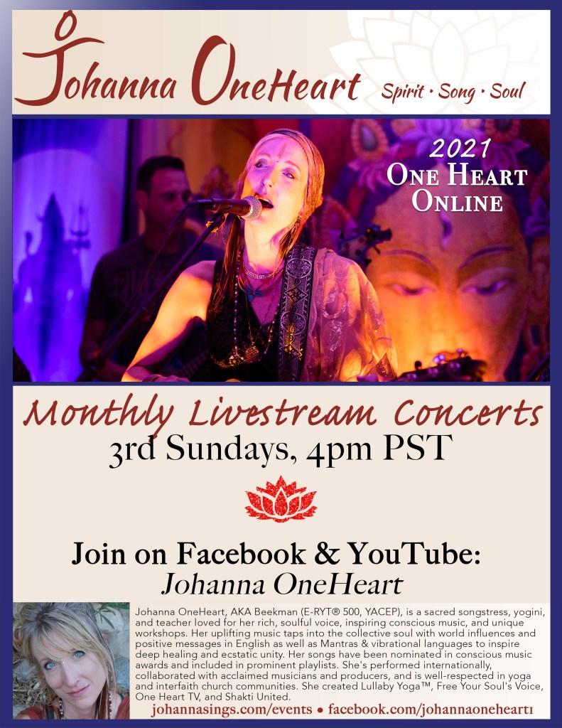 2021 Johanna Poster Third Sunday Online Concerts
