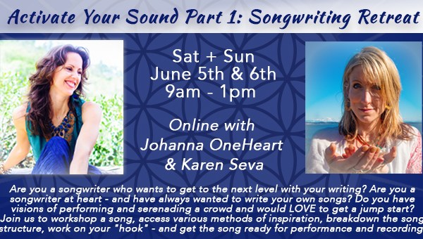 Activate Your Sound Part 1 Songwriting Retreat