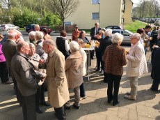 "Die Misereor-Aktion ""Coffee Stop"" 2017 in St. Hedwig"