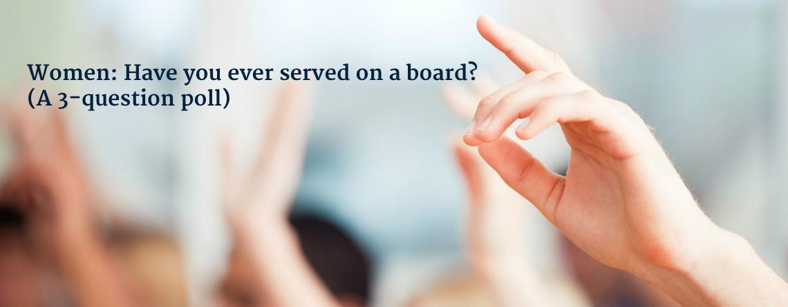 women boards poll