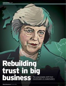 rebuilding trust big business ethical boardroom