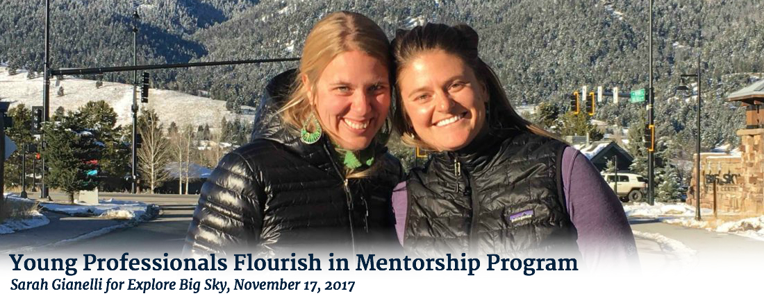 YOUNG PROFESSIONALS FLOURISH IN MENTORSHIP PROGRAM