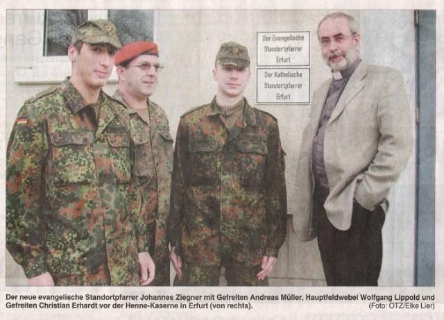 Zur Amtseinführung am 25.01.2007.