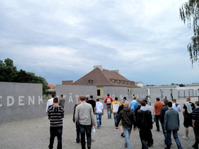 Besuch Gedenkstätte KZ Sachsenhausen, Berlin.