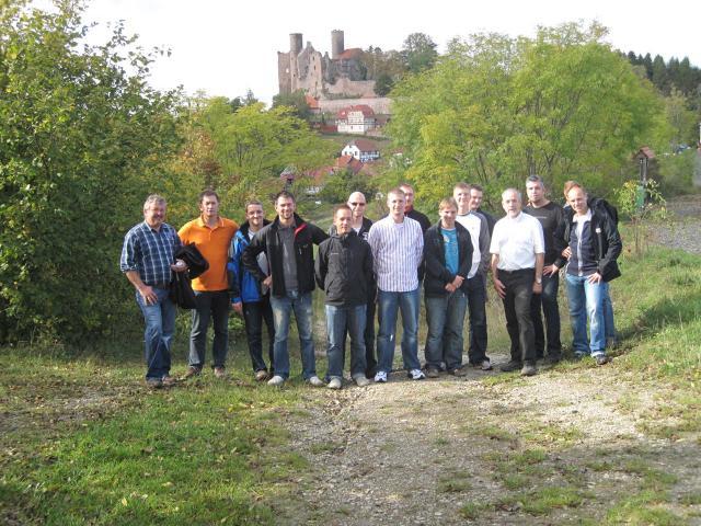 Grenzerfahrung im Eichsfeld, Burg Hanstein