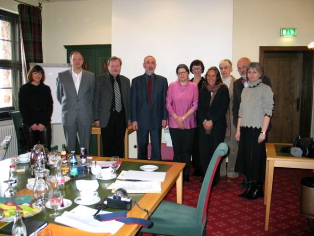 Die Arbeitsgruppe zu Schulentwicklung, Wartburg Eisenach.
