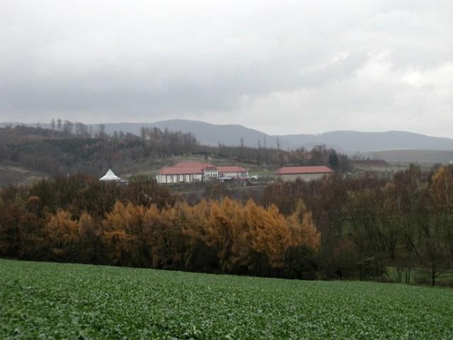 Der Tagungsort Teistungen an dem ehemaligen Grenzübergang BRD / DDR im Eichsfeld.