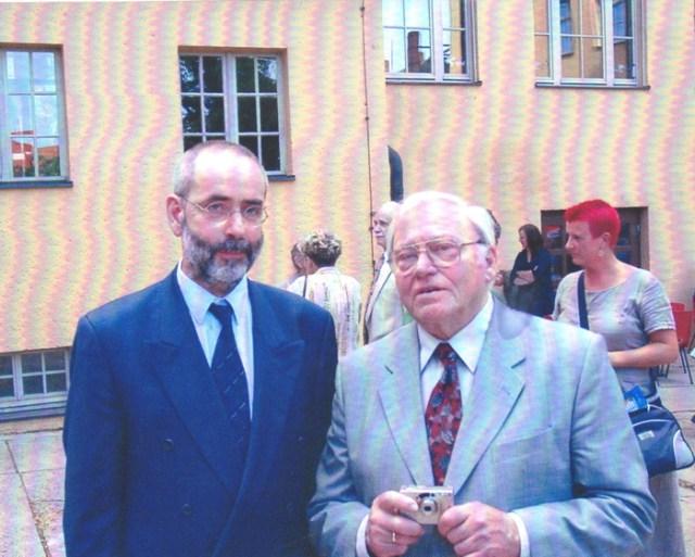 """Eröffnung """"Spalatin""""-Gymnasium 2001"""
