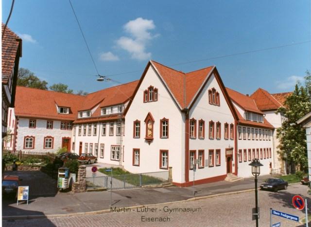 Das Gymnasium nach der Gesamtsanierung.