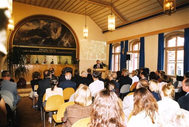 Festveranstaltung in der Aula, Martin-Luther-Gymnasium Eisenach