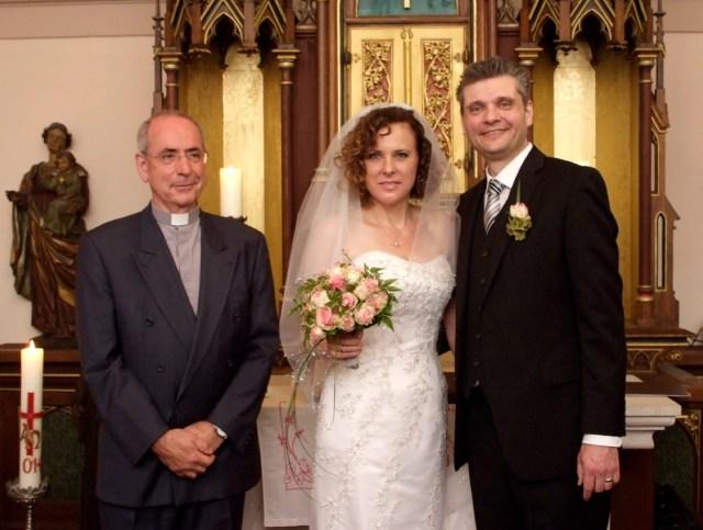 Andacht zur Eheschließung, Kapelle auf der Wachsenburg / Thüringen, Juli 2014