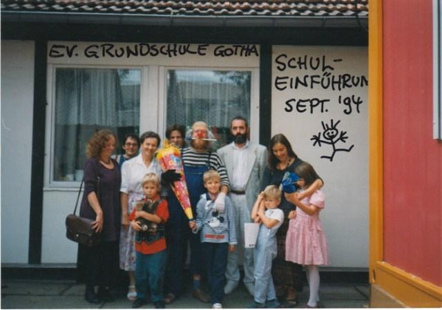 Schuleinführung Evangelische Grundschule Gotha