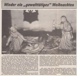 "Zeitung ""Freies Wort"" 1992"