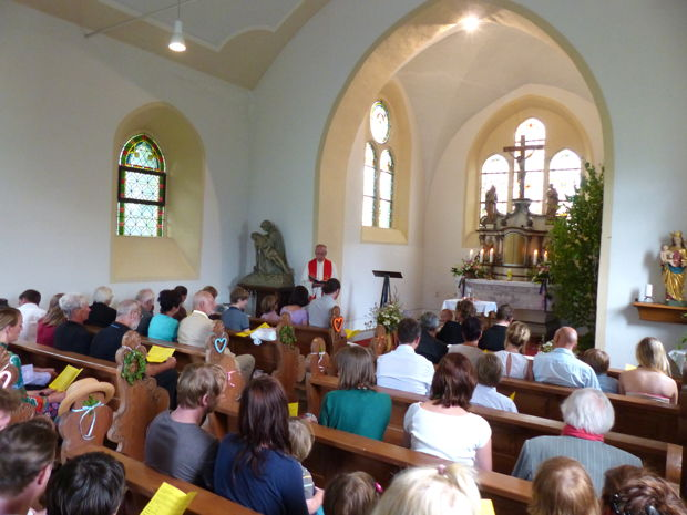 Taufe im Eichsfeld, Juli 2013