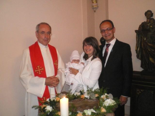 Taufe auf der Wachsenburg