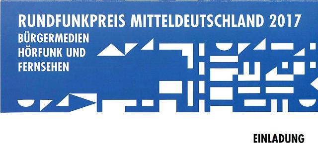 Bürgermedienpreis 2017