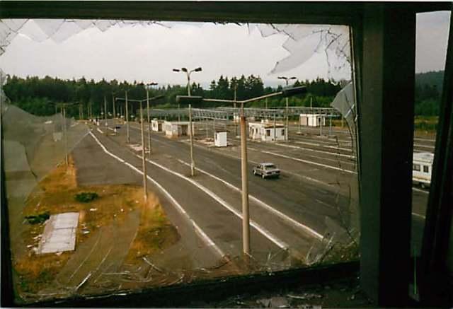 GÜST Eisfeld 1990