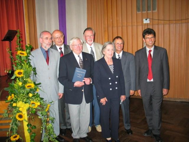 80. Geburtstag von Herrn Potthas, Bielefeld, mit Festschrift