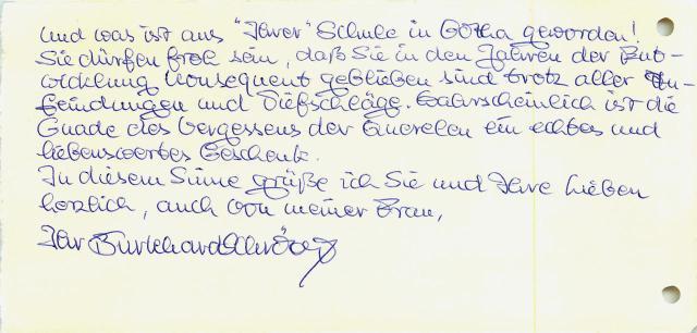 OKR Schröter, Gotha