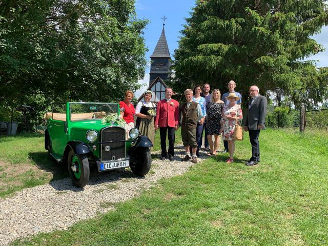 Andacht zur Eheschließung im Eichsfeld, Juni 2019