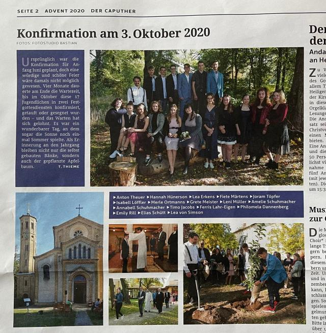 Konfirmation Joram 2020