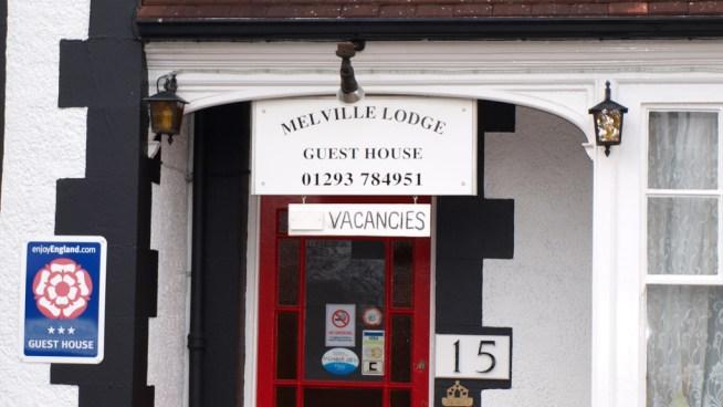 Melville Lodge Entrance