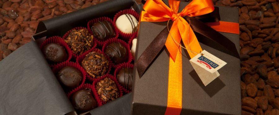 Una experiencia sublime comprando una caja de chocolates finos