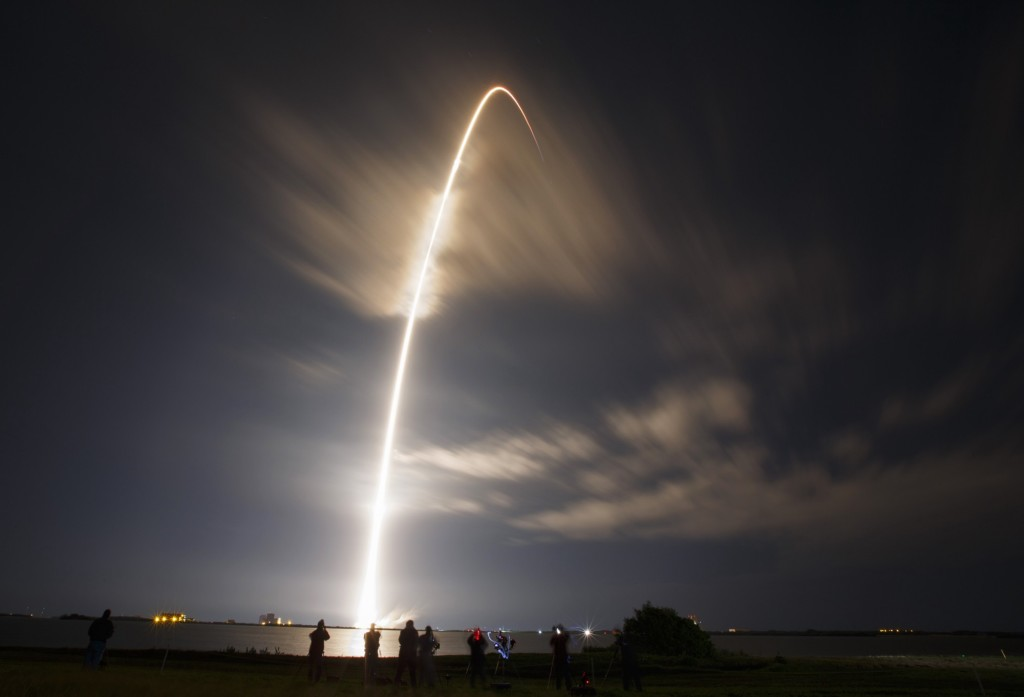 Space X Rocket Launch