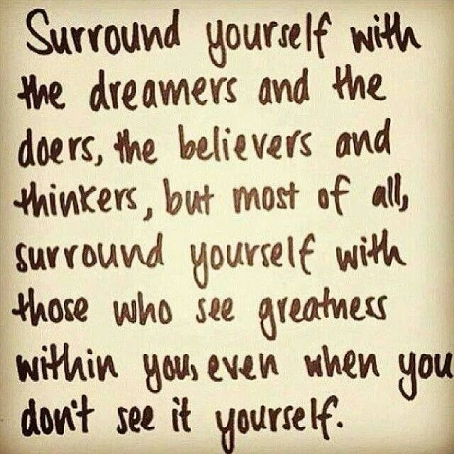 Finding your tribe.