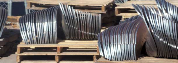 Stainless Steel Auger Flighting