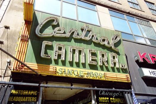 Central Camera, Chicago, Illinois. Kodak Portra 800 + Nikon F6.