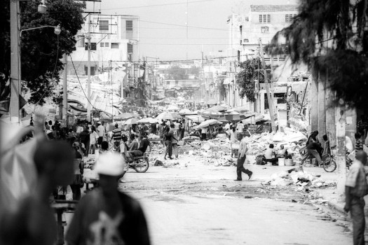 Port au Prince, Haiti after the 2010 earthquake
