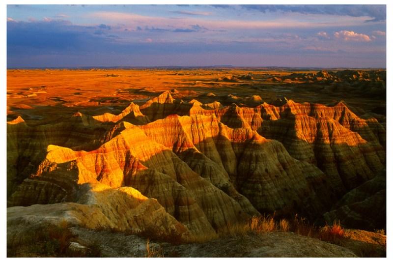 Sunset, Badlands National Park, South Dakota